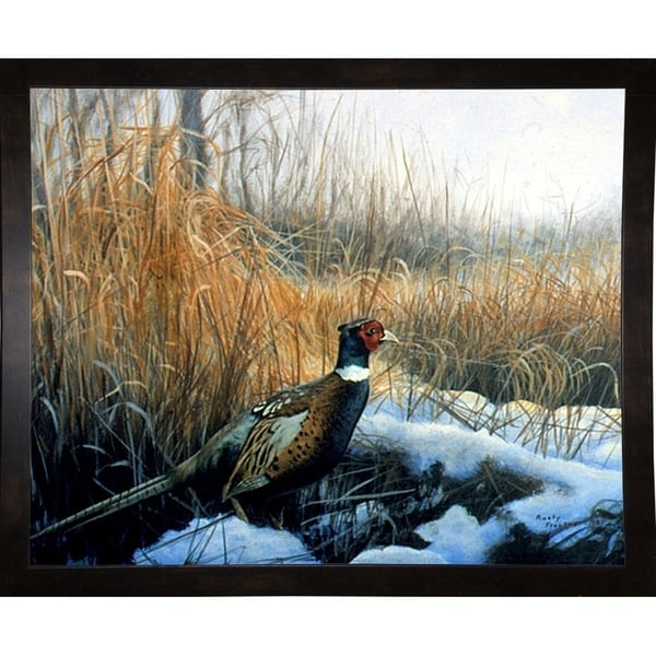 """Pheasant-RUSFRE99 Print 18.75""""x24"""" by Rusty Frentner"""