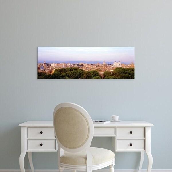 Easy Art Prints Panoramic Images's 'Rome, Italy' Premium Canvas Art