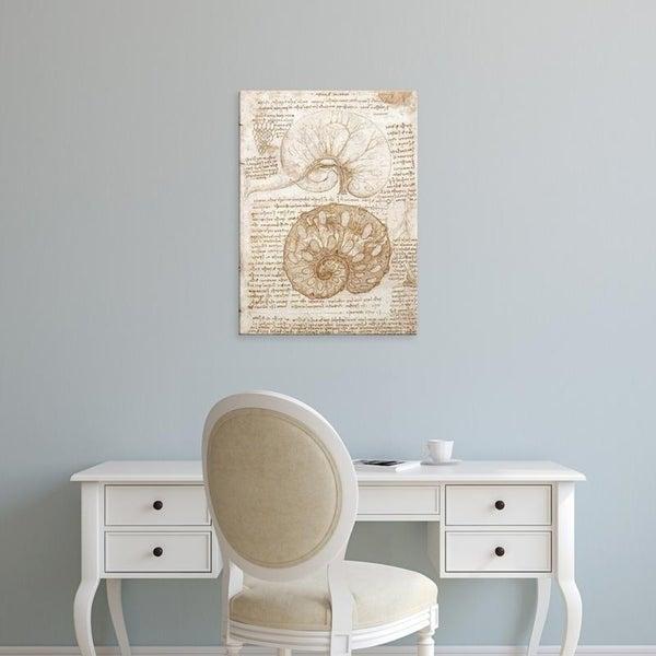 Easy Art Prints Leonardo da Vinci's 'The Uterus of a Cow' Premium Canvas Art