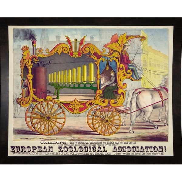 """Steam Car of the Muses-PRIPUB131031 Print 21.5""""x27"""" by Print Collection"""