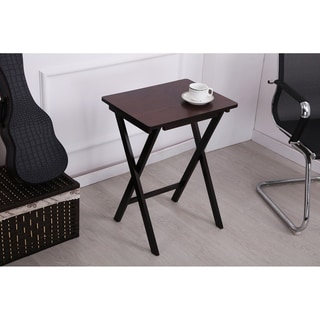 26 In. Brown or Decorative Living Room Folding Table