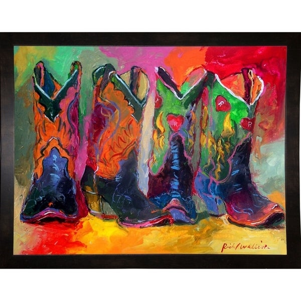 """Boots 1-RICWAL63006 Print 6.25""""x8"""" by Richard Wallich"""