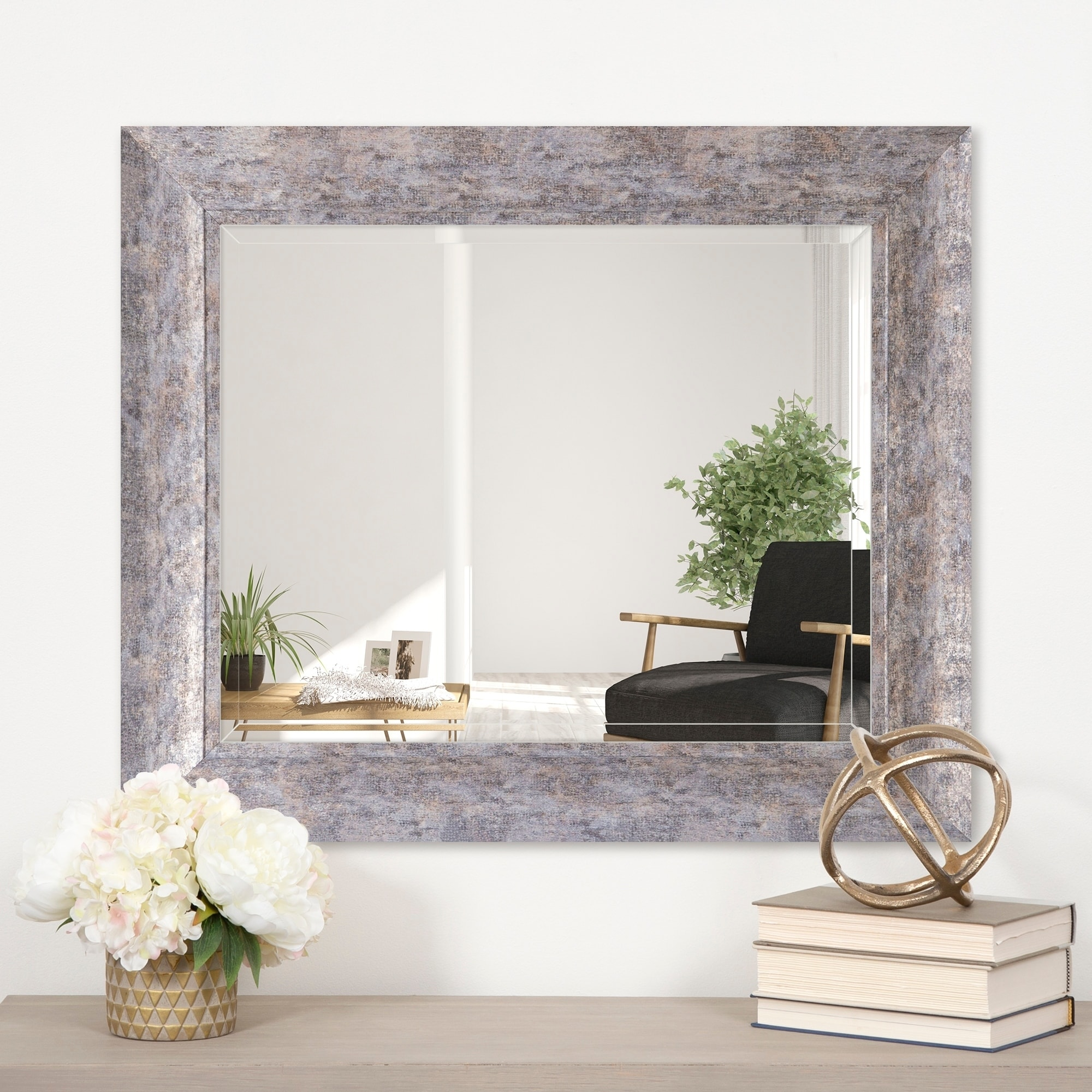 Silver Rectangular Mirrors Online At Our Best Decorative Accessories Deals