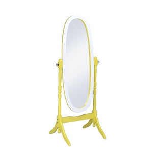 Oval Cheval Standing Decorative Mirror