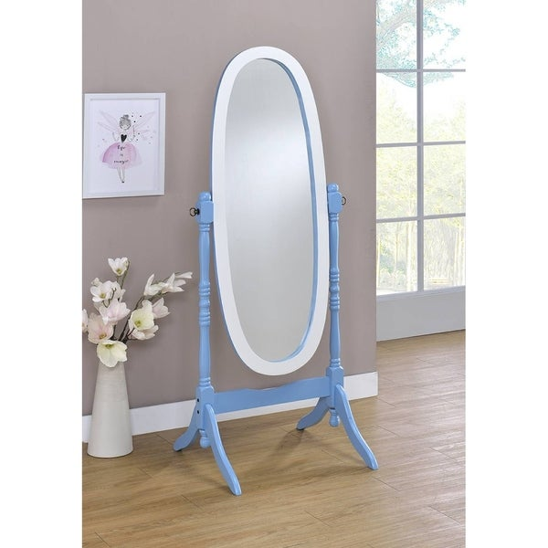 Shop Oval Cheval Standing Decorative Mirror On Sale
