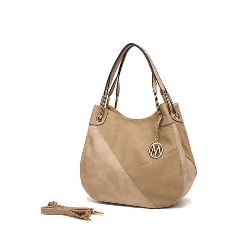 MKF Collection Delle Designer Hobo Bag by Mia K. Farrow
