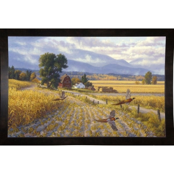 "Elements Of Fall-RANVAN14048 Print 18.75""x29"" by Randy Van Beek"