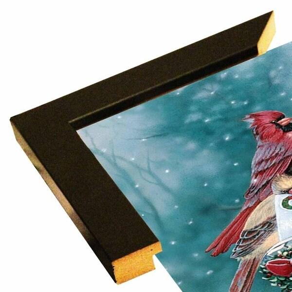 "Christmas Cardinals-JENNEW52607 Print 15""x12"" by Jenny Newland"