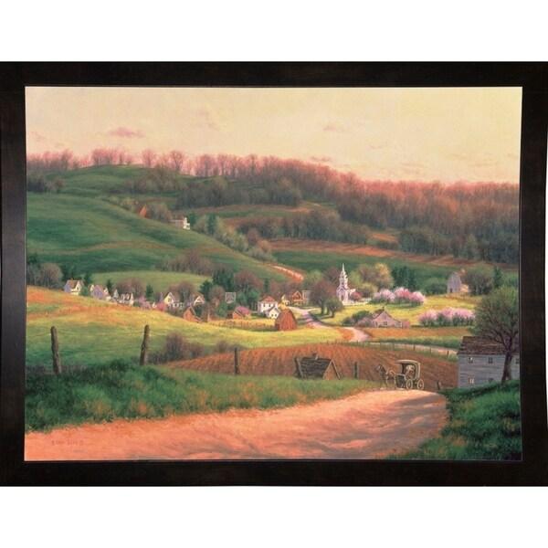 """Sunrise In Charan-RANVAN5586 Print 23""""x30.25"""" by Randy Van Beek"""