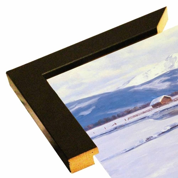 """Winter Homestead-RANVAN21554 Print 12.75""""x20.75"""" by Randy Van Beek"""