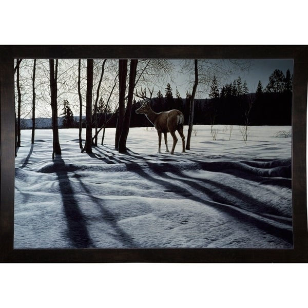 "Afternoon Shadows- Mule Deer-RONPAR10490 Print 6.75""x10"" by Ron Parker"