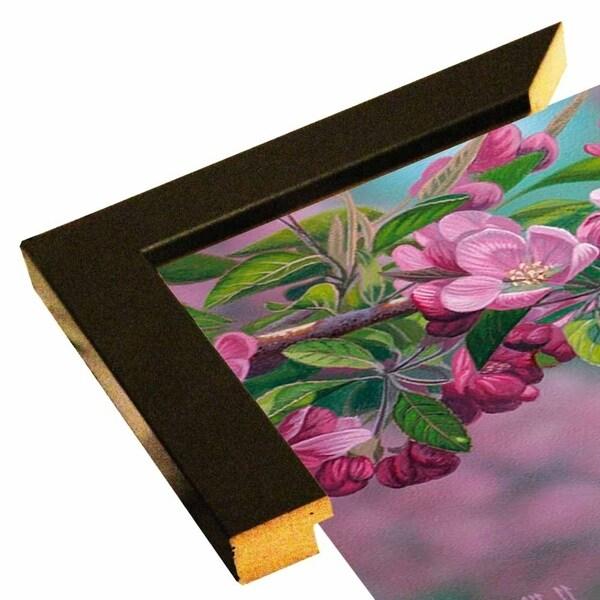 "Garden Sapphire - Bluebird-JEFHOF137960 Print 8""x16"" by Jeffrey Hoff"