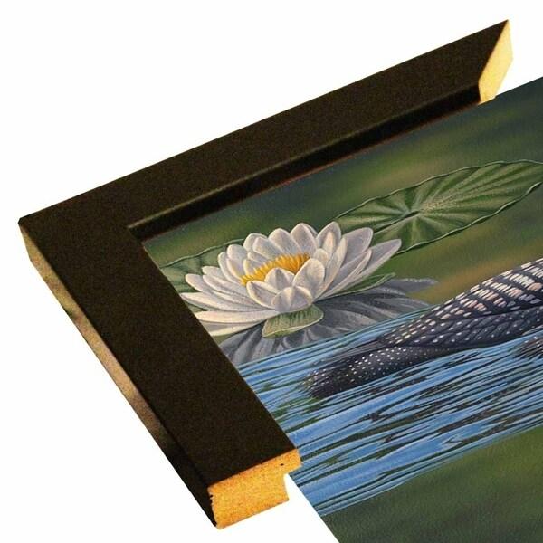 """Loon Pair-JEFHOF139396 Print 28""""x36"""" by Jeffrey Hoff"""