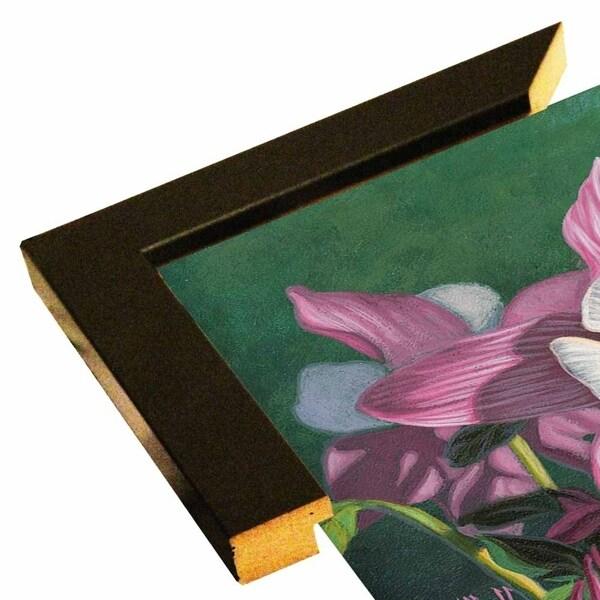"Hummingbird Pink - Columbine-JEFHOF137963 Print 8""x11.25"" by Jeffrey Hoff"