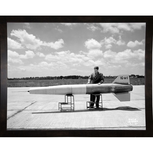 "Man and Ramjet Missile-PRIPUB131158 Print 10.25""x13.25"" by Print Collection"