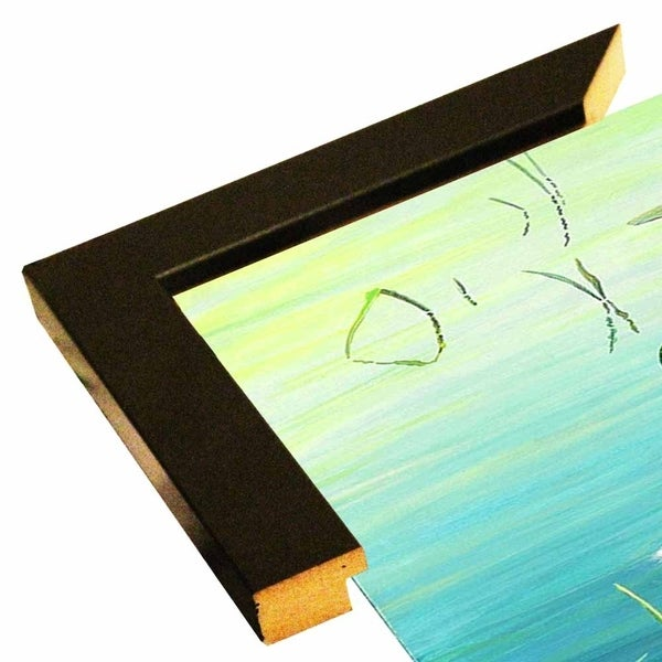 "Wood Ducks-JEFTIF69530 Print 5""x10.25"" by Jeff Tift"