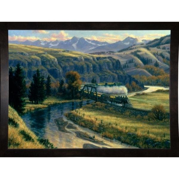 "Canyon Run-RANVAN21534 Print 20.5""x28"" by Randy Van Beek"
