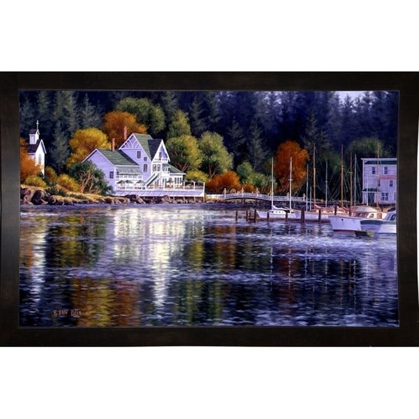 "Summer Reflections-RANVAN21551 Print 10.25""x16"" by Randy Van Beek"