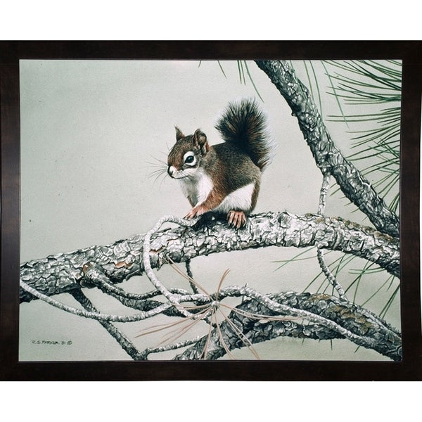 """Red Squirrel -RONPAR10557 Print 27""""x34"""" by Ron Parker"""