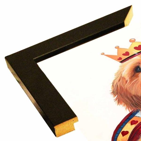 "King Of Hearts-JENNEW64980 Print 20.5""x16"" by Jenny Newland"