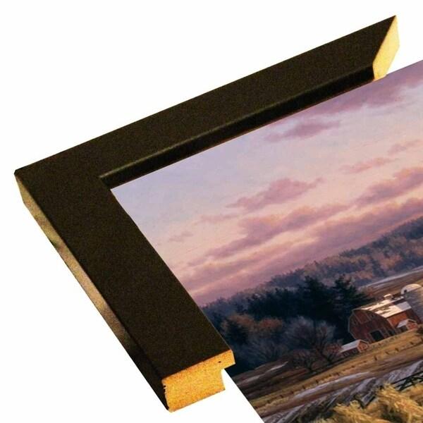 """Late Autumn Dusk-RANVAN5534 Print 20.75""""x35.25"""" by Randy Van Beek"""