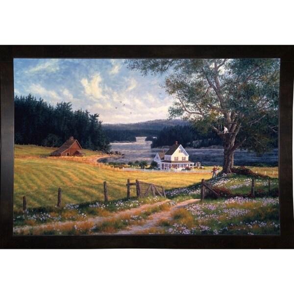 """A House In The Oak Tree-RANVAN5579 Print 19.25""""x28.75"""" by Randy Van Beek"""