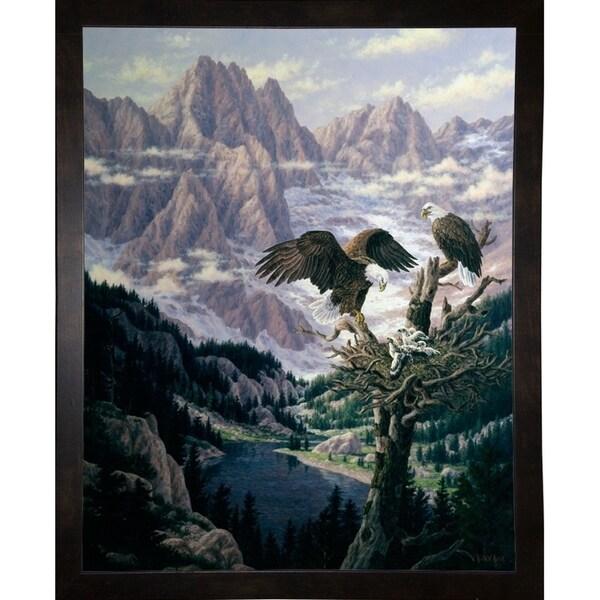 "Cascade Family Tree-RANVAN6174 Print 29.5""x23.5"" by Randy Van Beek"