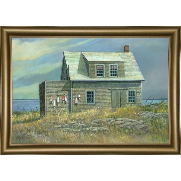 """Island Rental-JERCAB126790 Print 15.25""""x22.5"""" by Jerry Cable"""
