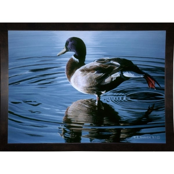"""Morning Stretch-RONPAR10520 Print 16""""x22.25"""" by Ron Parker"""