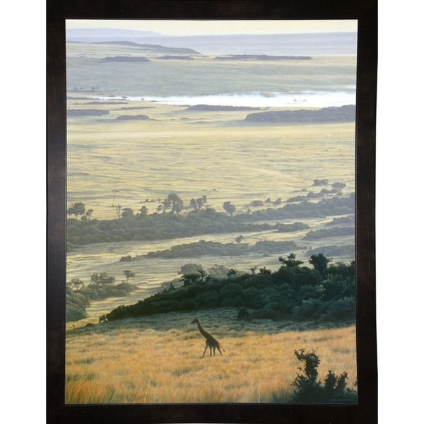 """Morning On The Mara-RONPAR10540 Print 16""""x12.25"""" by Ron Parker"""