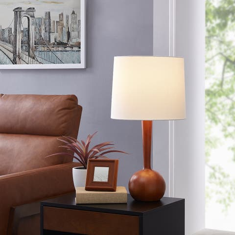Carson Carrington Oppland Wood 25-inch Table Lamp