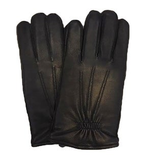Isotoner Mens Leather Gloves SIze Medium