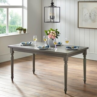 Simple Living Evanston Dining Table - Grey