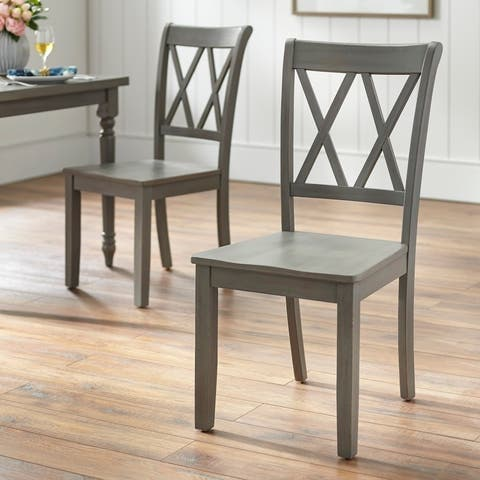Simple Living Evanston Dining Chair (Set of 2)