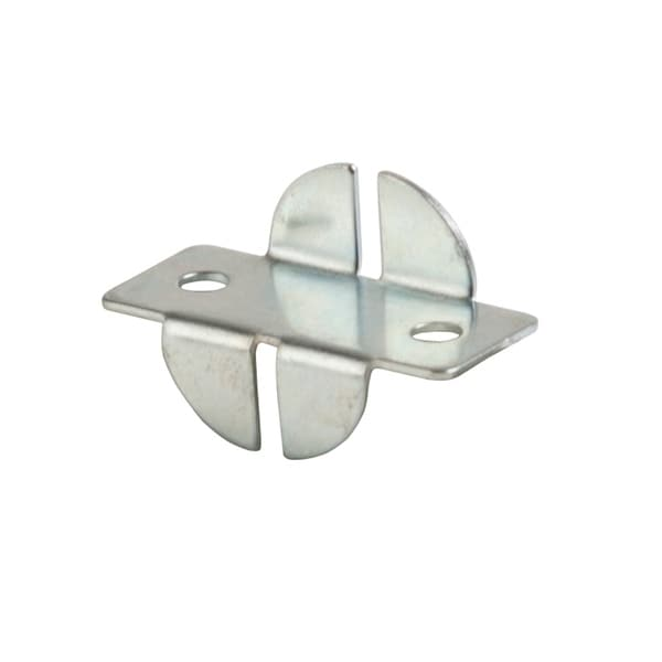 Econoco - SNF - Zinc Universal Line Front Style Shelf Rest Bracket Accessory Sold in Pack of 500