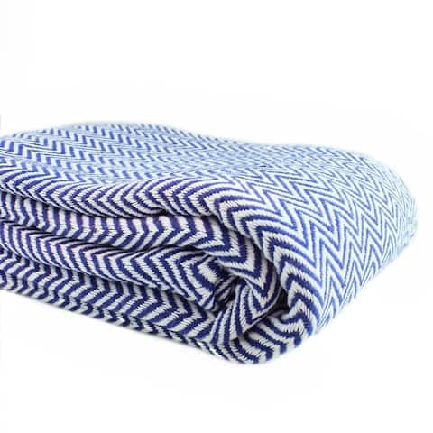 Melange Home Everyday Blanket Collect Yarn Dyed Cotton Blanket