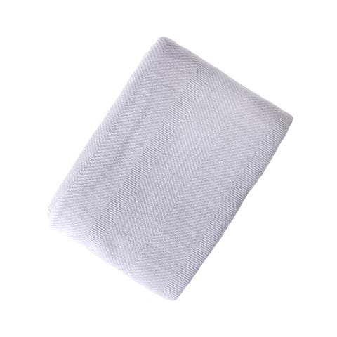 Everyday Blanket Collect Yarn Dyed Solid Cotton Blanket