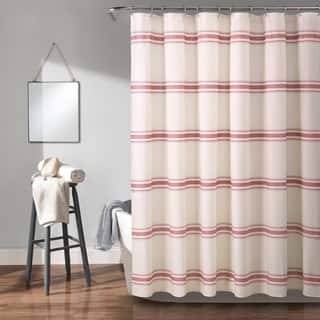 Buy Red Solid Color Shower Curtains Online At Overstock