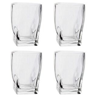 4 Pack Whiskey Rocks Beverage 14 Oz Glass - Bar Scotch Glasses Tumbler