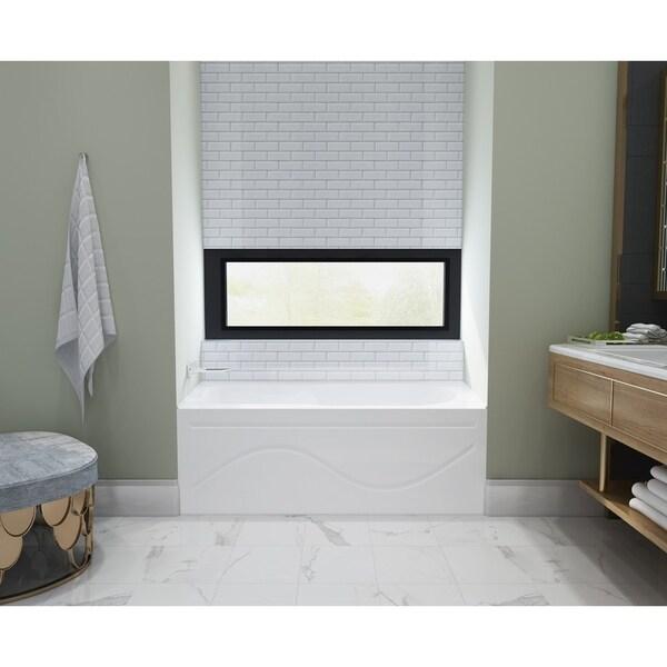 shop 60 x 30 inches acrylic deep soak alcove bathtub - white - free