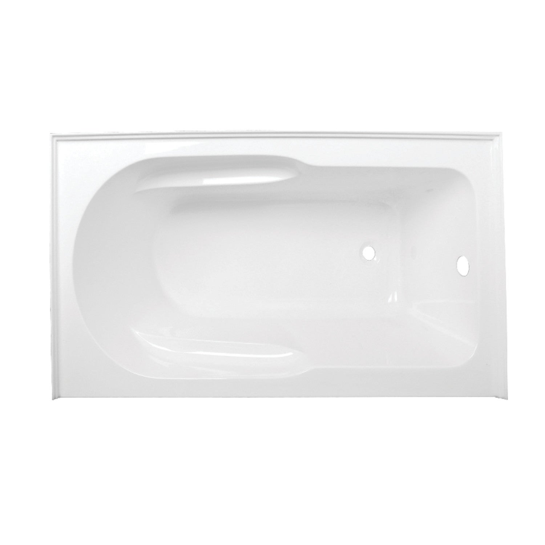 Acrylic Deep Soak Alcove Bathtub