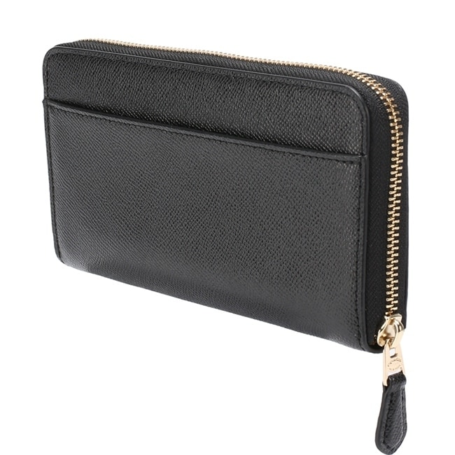 0a488e6ca87 Shop Coach Accordion Ladies Large Leather Wallet Black - Free Shipping  Today - Overstock - 24216318