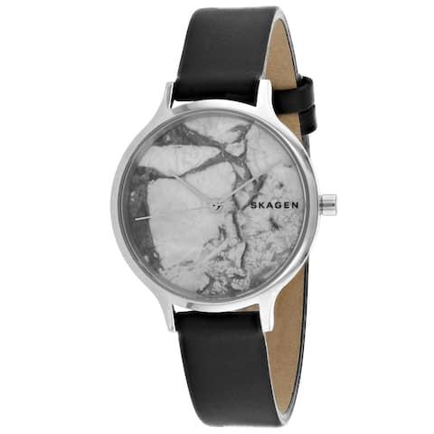 Skagen Women's SKW2719 'Anita' Blue Leather Watch