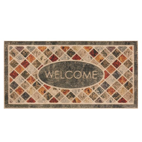 Mohawk Home Ornamental Mineral Stone Entry Mat (2'x4') - 2' x 4'