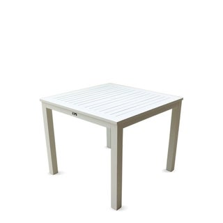 Courtyard Casual Skyline Aluminum Outdoor Square Dining Table