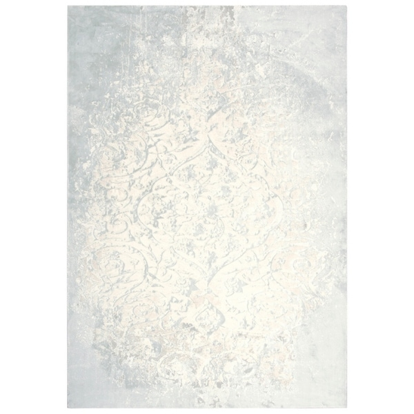 "Glamour Vine/Scroll Cream/Beige Runner Rug - (2'7"" x 9'6"") - 2'7"" x 9'6"""