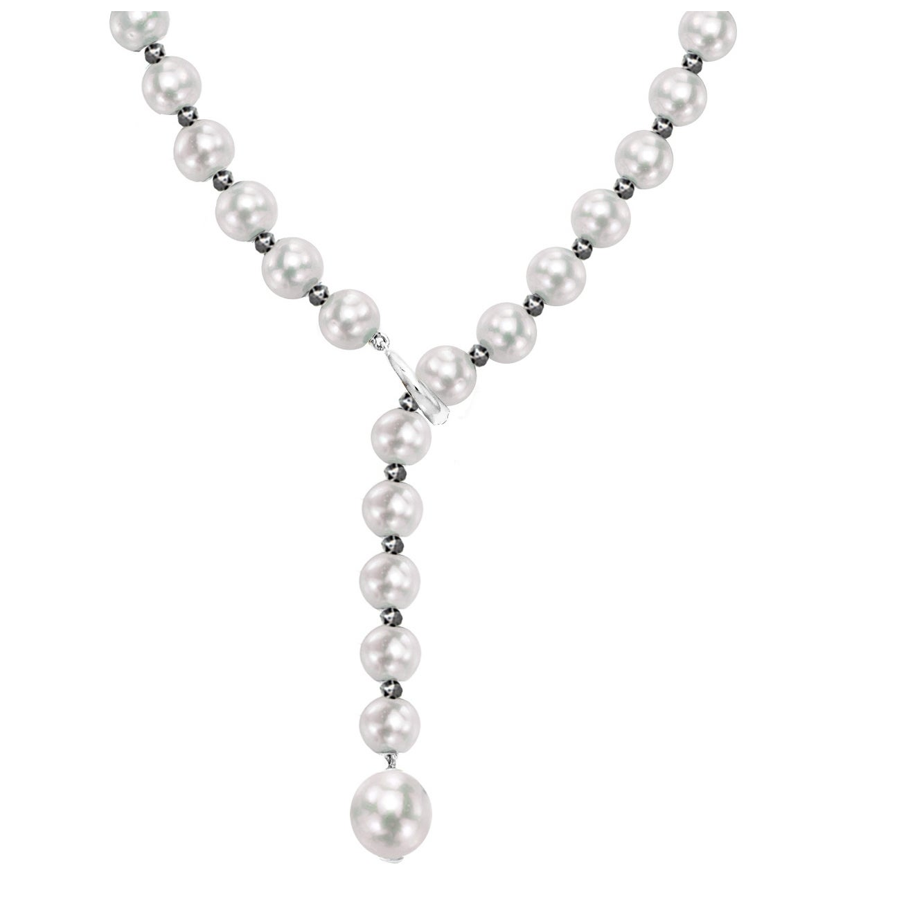 20 silverfoil-Perle N. 14 8mm Rosa