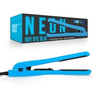 Hair Rage Neon Edition 1-25-inch Ceramic Professional Flat Iron