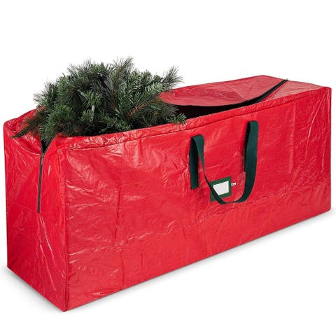 Artificial Christmas Tree Storage Bag - Fits Up to 7.5 Foot Holiday Trees,