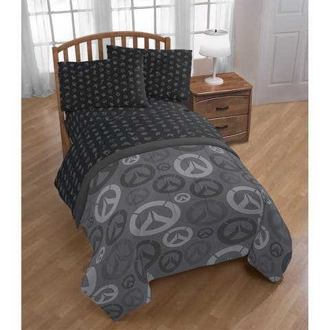 Blizzard Overwatch Heroes Twin Bed in a Bag